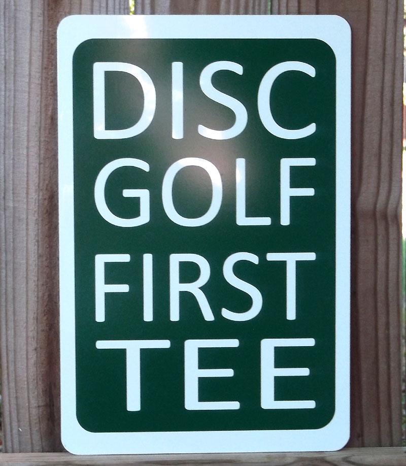 HOD 08/25/12: Alexander Park in Lawrenceville, GA - Disc ...  |Frisbee Golf Sign